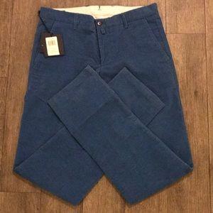 Facconable Mens pants color Mediterranean sz 30